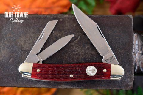 Boker 110280SRB Whittler Smooth Red Bone