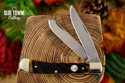 Boker 112525WBB Trapper Washboard Bone