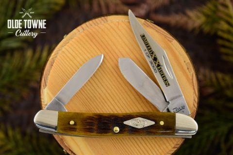 W.R. Case & Sons LE Stockman Honeycomb Bone