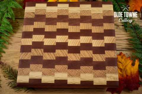 HP Woodworks Small Checkered Cutting Board