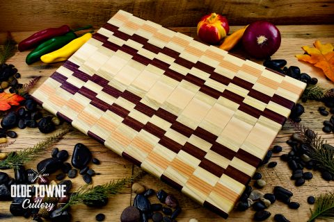 HP Woodworks Pixelation 11 x 17 Cutting Board