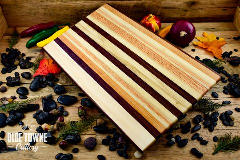 HP Woodworks Bar-Code 11 x 18 Cutting Board