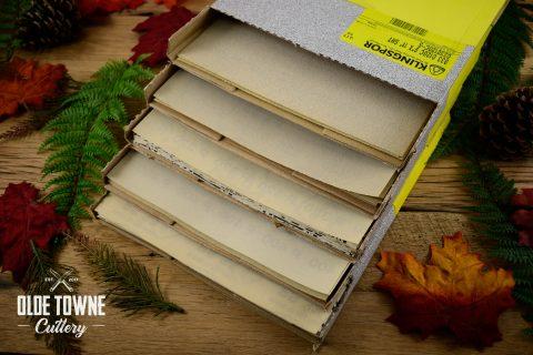 """Klingspor's Stearate Paper 60-grit 9"""" x 11"""""""