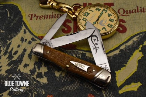 Vintage Case Classic Whittler Yellow Jigged Bone