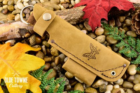 Benchmade Bushcrafter Leather Sheath