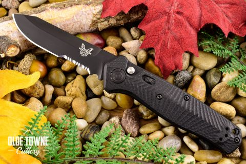 Benchmade 8551SBK Mediator Auto Black
