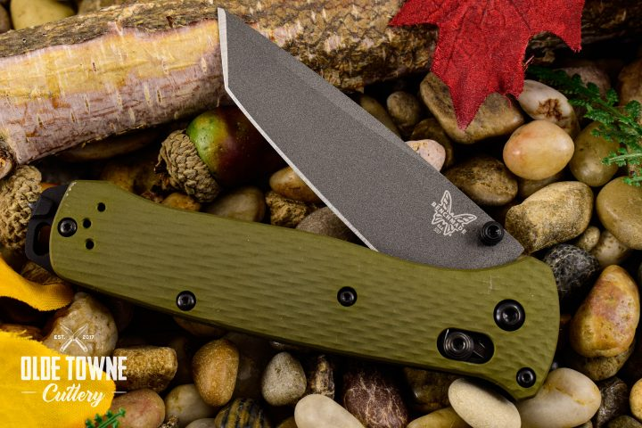Benchmade 537GY-1 Bailout Woodland