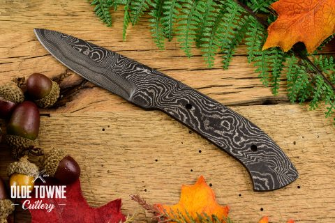 Alabama Damascus Drop Point #39