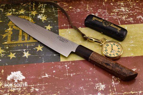 "Due South Knives Akagi Chef 8"" Blackwood #8"