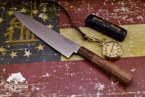 "Due South Knives Akagi Chef 8"" Maple #9"