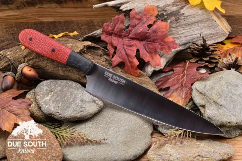 """Due South Knives 7"""" Chef Bull Dawg"""