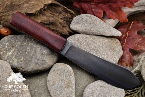 Due South Knives Sheath Knife Bloodwood