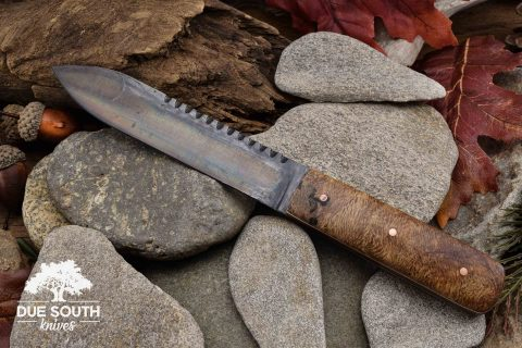 Due South Knives Kephart Box Burl