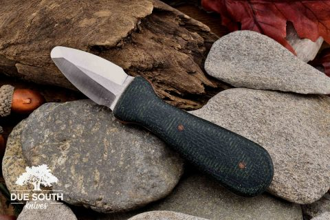 "Due South Knives ""The Shucker"" Oyster Green"