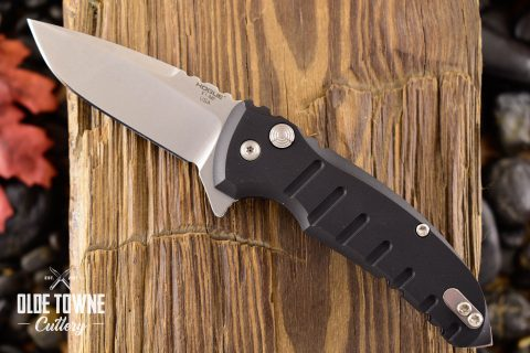 Hogue Knives 24170 X1-Micro Manual Matte Black *