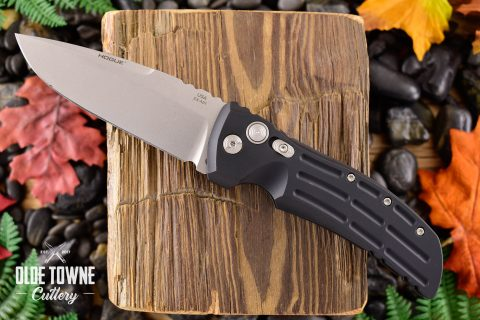 Hogue Knives 34116 EX-A01 Matte Black Aluminum