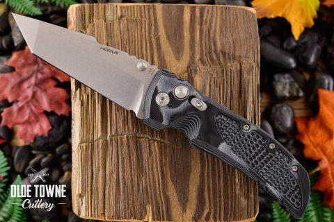 Hogue Knives 34149 EX-01 G10 G-Mascus Black *
