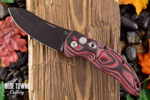 Hogue Knives 34432 EX-A04 G10 G-Mascus Red Lava *