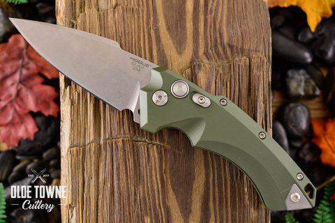 Hogue Knives 34531 EX-A05 OD Green Aluminum