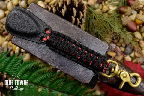 Alfa Knife Kydex Self-Defense Black/Red
