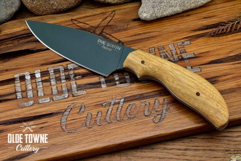 Due South Knives Dakota Drop Pt Canarywood