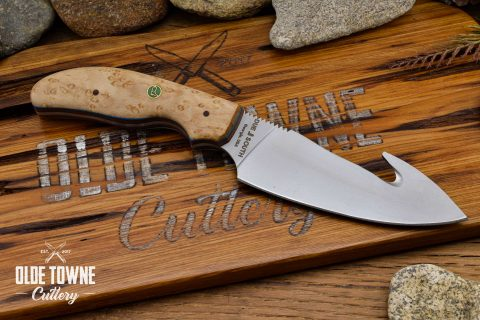 Due South Knives Gut Hook Nat Birds Eye