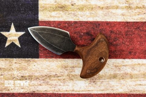 Alfa Knife Small Push Dagger Wood