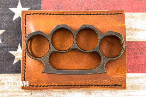 "Alfa Knife 1/2"" Brass Knuckles #2"