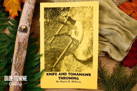 Knife and Tomahawk Throwing Book