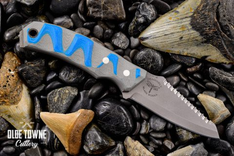 The Dark Water Knife Grey/Blue
