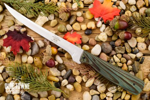 """Due South Knives 6 1/2"""" Fillet Cypress #2"""