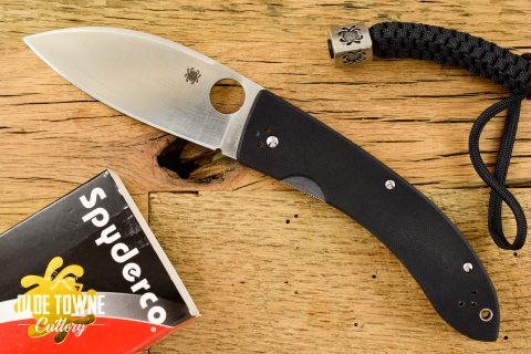 Pre-Owned Spyderco Lum Chinese Linerlock Large (C)