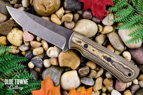 Alfa Knife Huntsman Black/Tan Richlite
