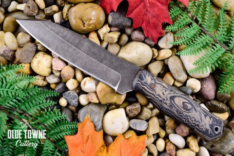 Alfa Knife Patriot Camo G10 Burl