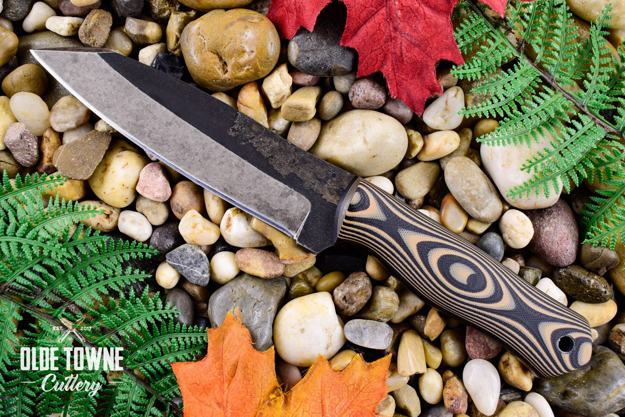 Alfa Knife Patriot Black/Tan G10