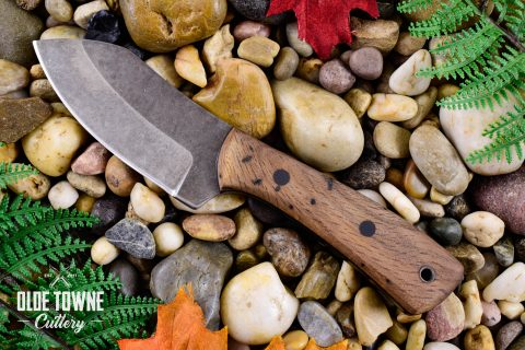 Alfa Knife Mini Muk Live Oak with Leather