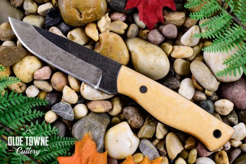 Alfa Knife Woodsman Tan Richlite