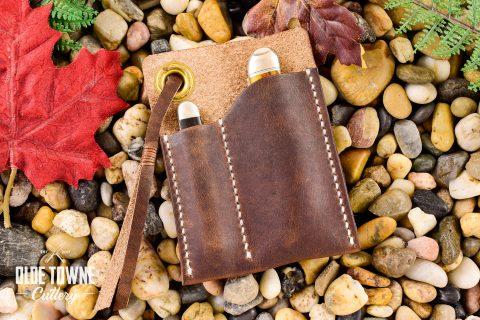 Back Pocket Leather Sheath