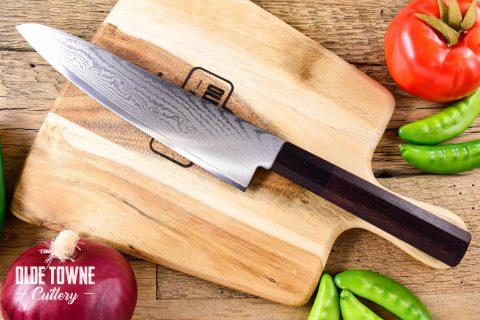 "Due South Knives Akagi Chef 8"" Rosewood #5"