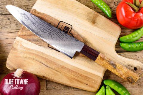 "Due South Knives Akagi Chef 8"" Mango"