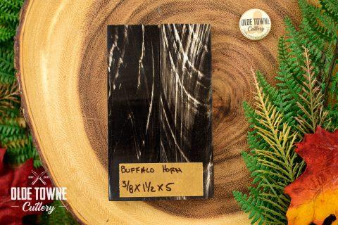 "Handle Material Buffalo Horn 3/8"" x 1 1/2"" x 5"""