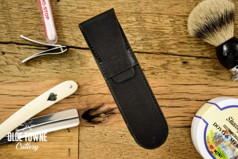 Straight Razor Sheath Black