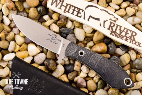 White River Knife & Tool WRJF-SB-BBL Sendero Bush
