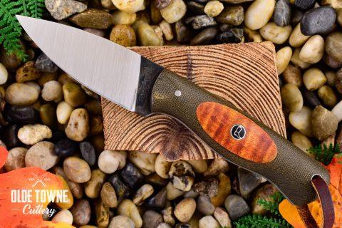 Due South Knives Edisto EDC Green Micarta