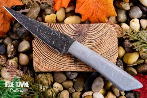 Will Dutton Turkey Skinner Damascus G10 (C)