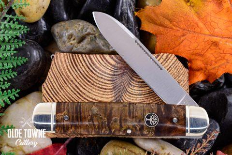 Boker 110910 Cattle Knife Curly Birch