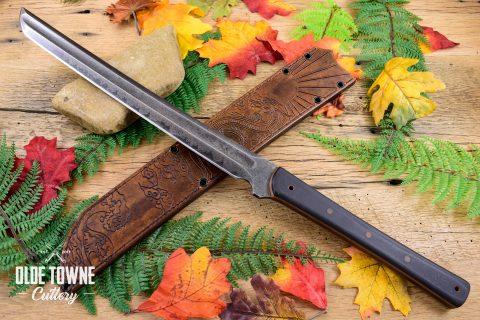 Alfa Knife Wakizashi Black G10