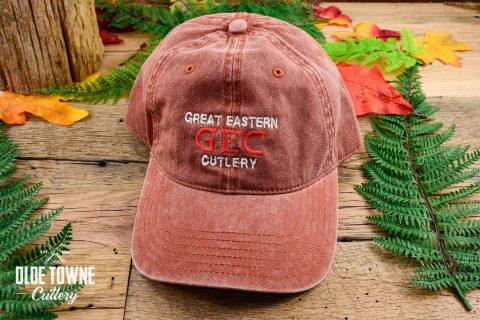 Great Eastern Cutlery Logo Orange Hat