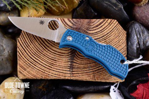 Spyderco SCMFPK390 Manbug Lockback Blue