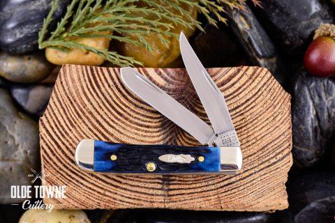 W.R. Case & Sons 62154 SS Tiny Trapper Blue Denim